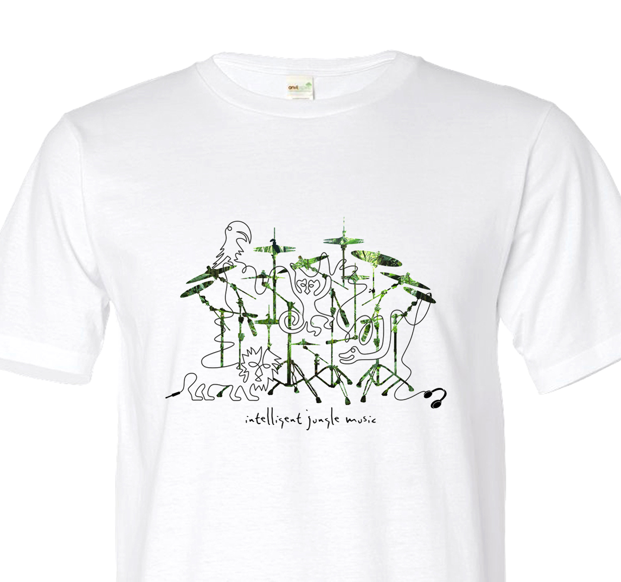 intelligent jungle music t shirt intelligent jungle music. Black Bedroom Furniture Sets. Home Design Ideas